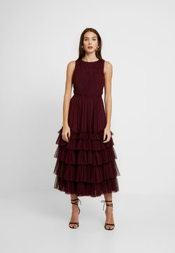 Lace & Beads - MEL MIDI - Cocktailkleid/festliches Kleid - burgundy