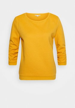 TOM TAILOR DENIM - STRUCTURED - Sweatshirt - indian spice yellow