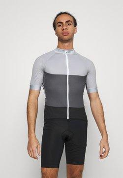 POC - ESSENTIAL ROAD LIGHT  - T-Shirt print - alloy grey/sylvanite grey