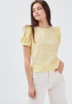 BONOBO Jeans - Bluse - jaune clair