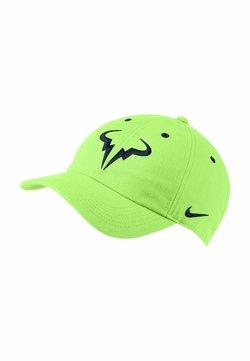 Nike Performance - Cappellino - lime glow/obsidian
