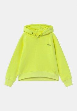 Vingino - NATASJA BASIC HOODIE - Jersey con capucha - neon lime