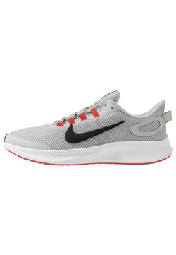 Nike Performance - RUNALLDAY 2 - Neutral running shoes - grey fog/black/chile red/racer blue