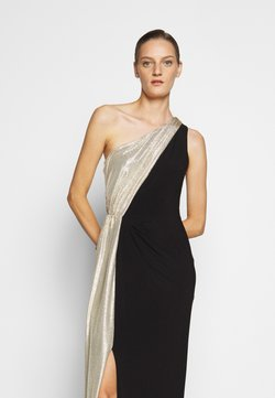 Lauren Ralph Lauren - CLASSIC LONG GOWN  - Robe de cocktail - black/lannister gold