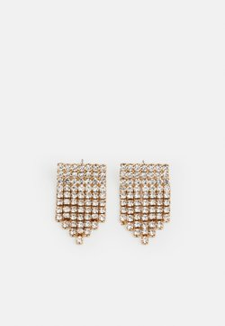 Pieces - PCMACKENZIE EARRINGS - Earrings - gold-coloured/clear