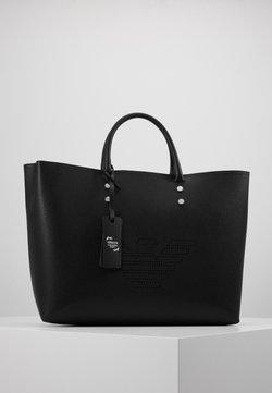 Emporio Armani - GRENETTE SHOPPER - Shopping Bag - nero