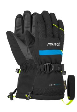Reusch - Fingerhandschuh - black/safety yellow