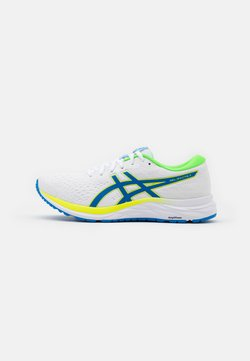 ASICS - GEL-EXCITE 7 - Laufschuh Neutral - white/safety yellow