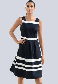 Alba Moda - Freizeitkleid - marineblau,weiß