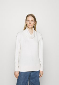 GAP - COWL - Strickpullover - light cream