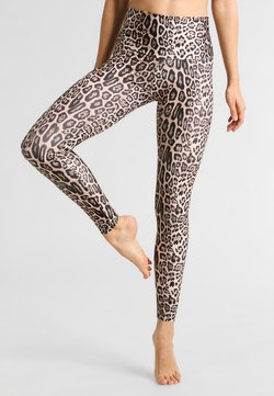 Onzie - HIGH RISE LONG LEGGING - Trikoot - leopard