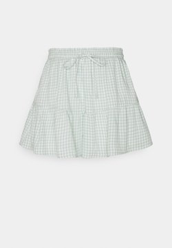 Hollister Co. - Shorts - mint gingham