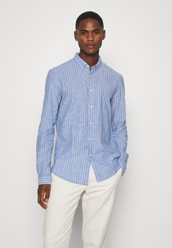 TOM TAILOR DENIM - LONGSLEEVE - Camicia - blue white