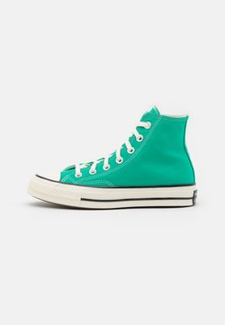 Converse - CHUCK 70 RECYCLED UNISEX - High-top trainers - court green/egret/black