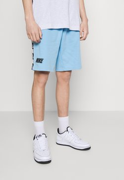 Nike Sportswear - REPEAT  - Shorts - psychic blue/white/black