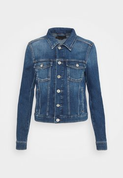 Marc O'Polo - JACKET BUTTON CLOSURE - Jeansjacke - blue denim