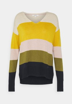 Esprit - CORE - Strickpullover - brass yellow
