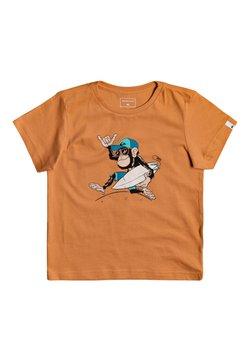 Quiksilver - QUIKSILVER™ BANANA ALLEY - T-SHIRT FÜR JUNGEN 2-7 EQKZT03372 - T-shirt print - apricot buff