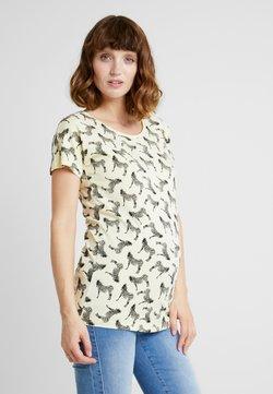 Supermom - TEE ZEBRA - T-Shirt print - pastel yellow