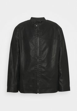 Jack & Jones - JJEWARNER JACKET - Veste en similicuir - black
