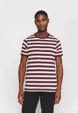 Farah - BELGROVE  - T-Shirt print - red