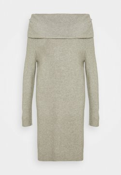 ONLY Tall - ONLMARLI LIFE DRESS - Strickkleid - kalamata melange