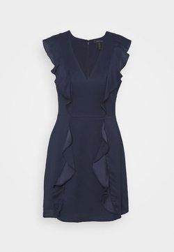 BCBGMAXAZRIA - EVE SHORT DRESS - Sukienka koktajlowa - navy