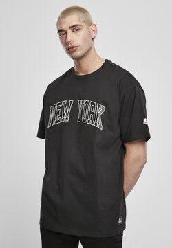 Starter - NEW YORK TEE - T-shirt print - black