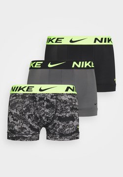 Nike Underwear - TRUNK 3 PACK  - Culotte - dark grey/black