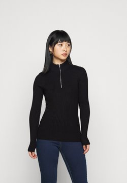 Even&Odd Petite - Vest - black