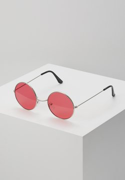 Only & Sons - ONSSUNGLASSES ROUND - Sunglasses - new red/silver-coloured