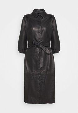 Bruuns Bazaar - PETRAH ZIA DRESS - Blousejurk - black
