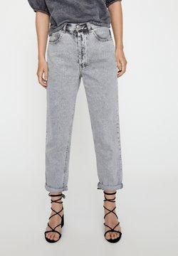PULL&BEAR - Straight leg jeans - light grey