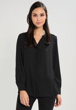 Selected Femme - SLFDAMINA DOT LS SHIRT - Overhemdblouse - black/snow white dots