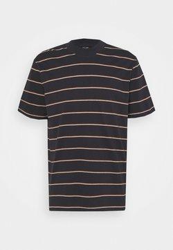 Only & Sons - ONSALAN LIFE MOCK NECK TEE - T-Shirt print - dark navy