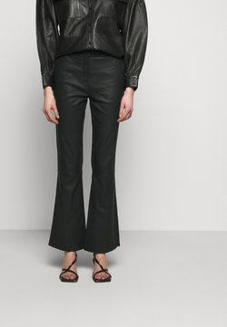 2nd Day - MAUSER - Pantalon en cuir - black