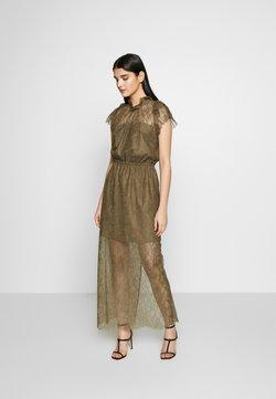 DESIGNERS REMIX - VANESSA LONG DRESS - Vestido de fiesta - khaki