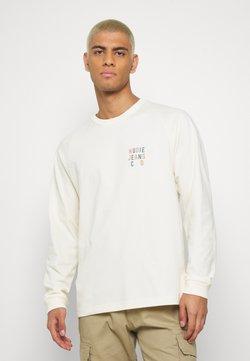 Nudie Jeans - BODIE - Långärmad tröja - dusty white