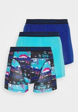 MUCHACHOMALO - ENDBOSS 3 PACK - Shorty - blue/turquoise