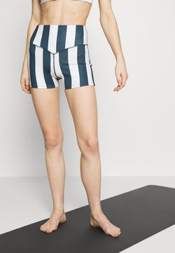 Wolf & Whistle - STRIPED RUNNING SHORTS - Medias - blue