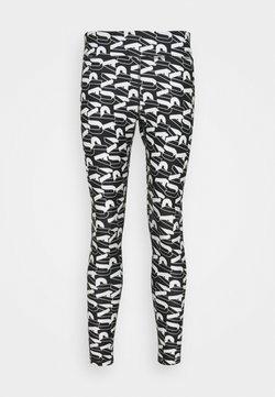 Puma - MODERN SPORTS - Tights - black/white