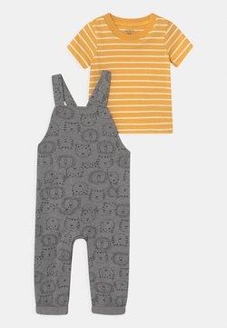 Carter's - LION SET - Camiseta estampada - grey/yellow