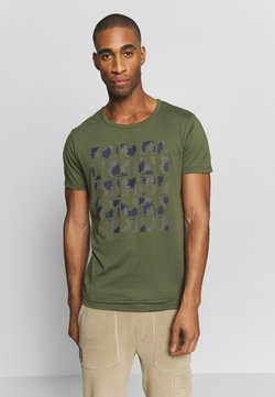 Icepeak - AACHEN - T-shirt print - dark olive