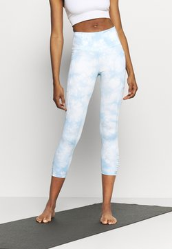 Cotton On Body - LOVE YOU A LATTE 7/8 - Tights - baby blue