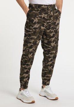 Mo - Stoffhose - camouflage