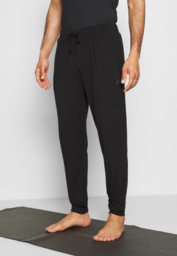Curare Yogawear - MENS LONG PANTS - Jogginghose - black
