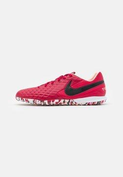 Nike Performance - TIEMPO LEGEND 8 PRO TF - Korki Turfy - cardinal red/black/crimson tint/white