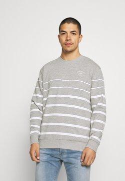 Newport Bay Sailing Club - PLACEMENT STRIPE - Sweatshirt - grey marl