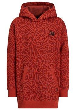 WE Fashion - MEISJES MET - Freizeitkleid - saffron red