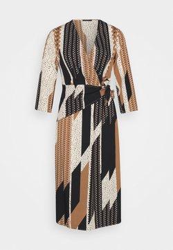Sisley - DRESS - Korte jurk - light brown/beige